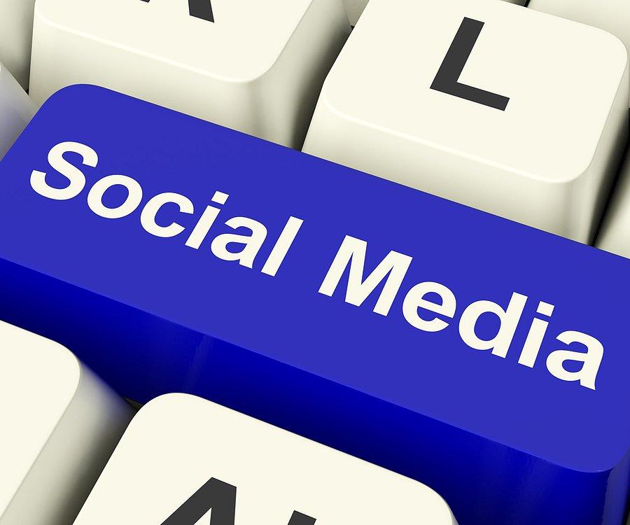 Social Media Computer Key