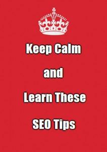 keep calm seo tips