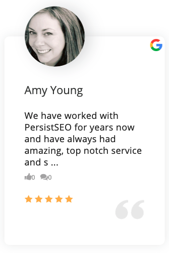PersistSEO Google Review 1